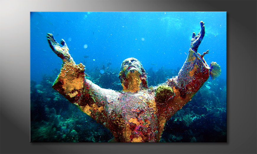 Art print Christ of the Abyss