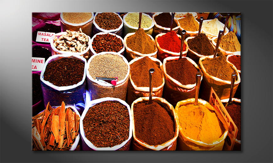 Art print Colorful Spices
