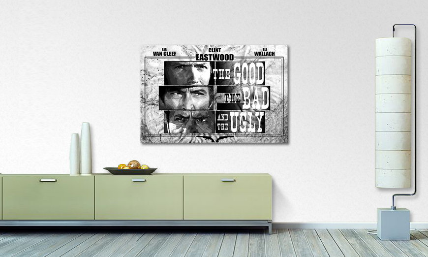 Art print Good The Bad The Ugly