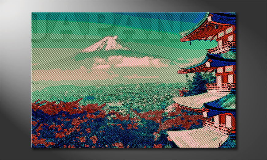 Art print Japan in different sizes