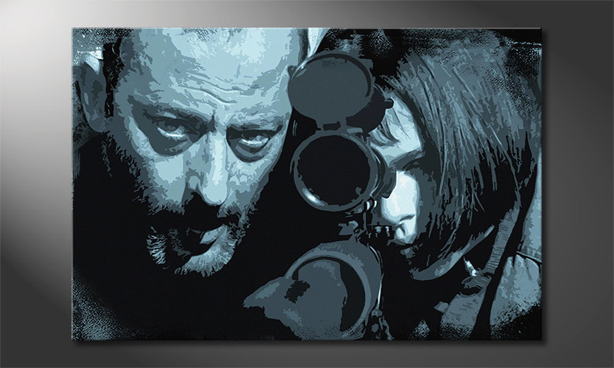 Art print Leon and Mathilda