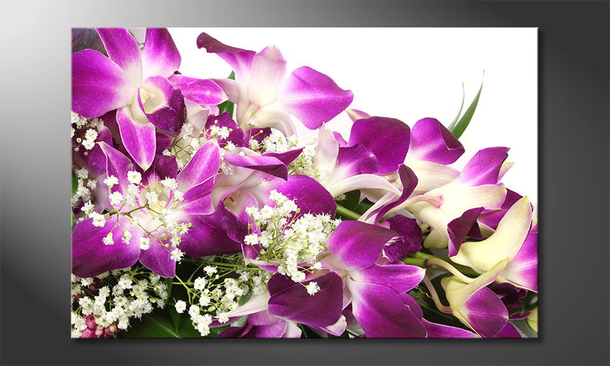 Art print Orchid Blossoms