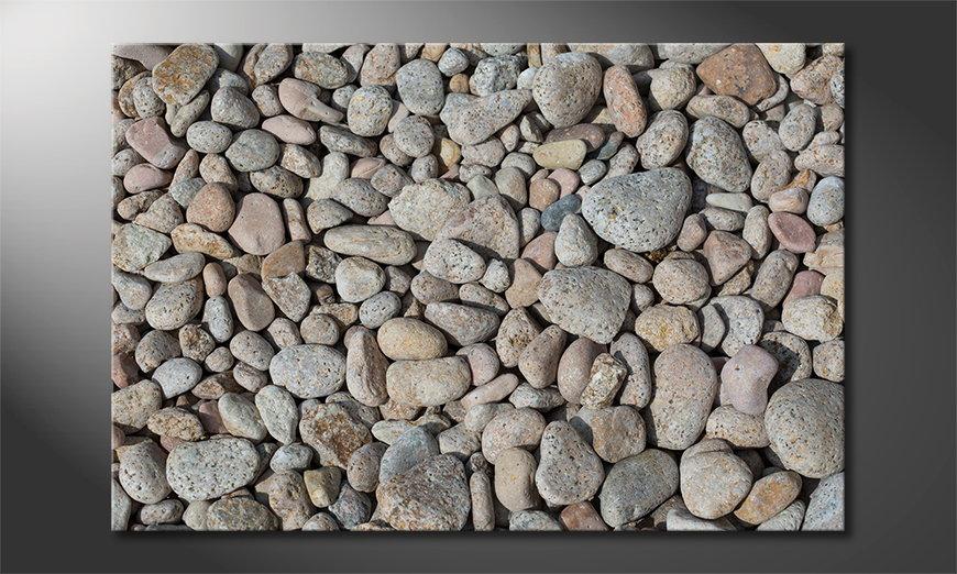 Art print Pebble Stones