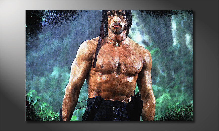 Art print Rambo Moment