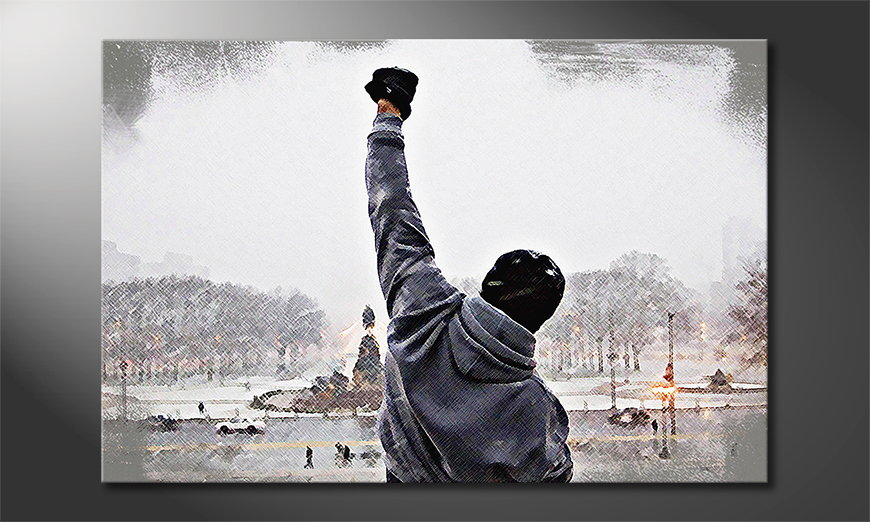 Art print Rocky Moment