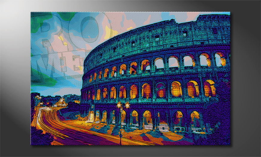 Art print Rome in 6 sizes