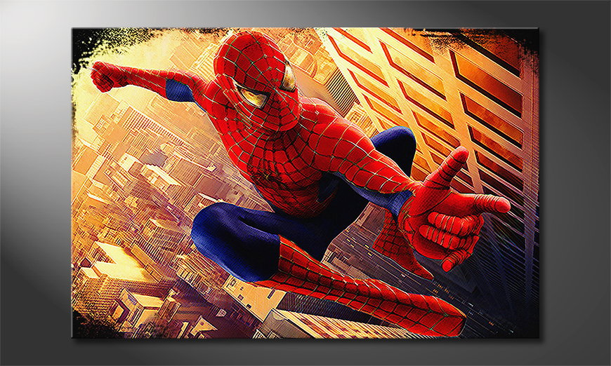 Art print Spiderman Moment