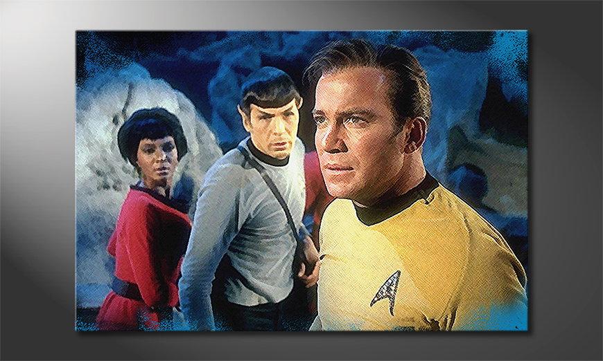 Art print Star Trek Enterprise 120x80x2cm