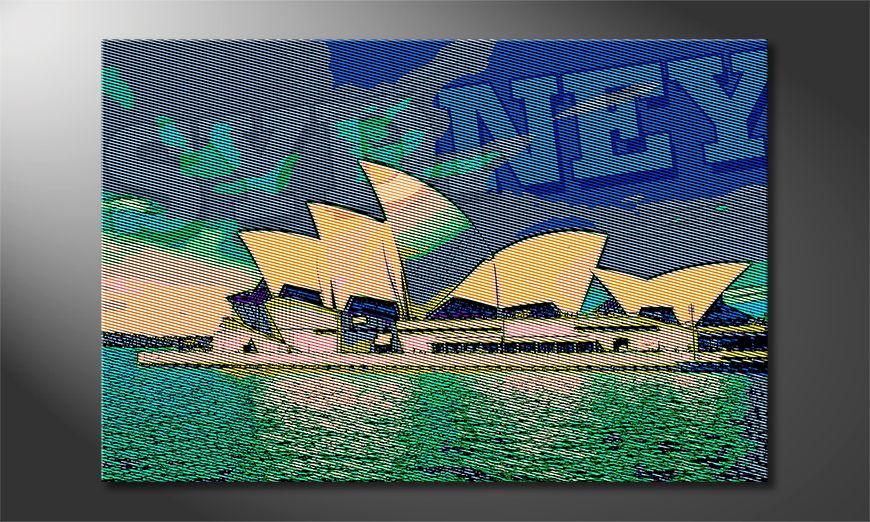 Art print Sydney