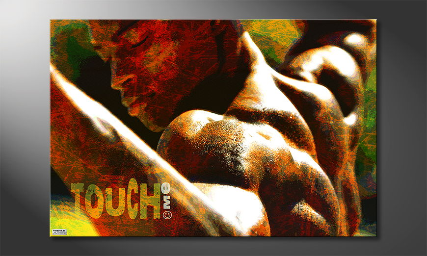 Art print Touch Me