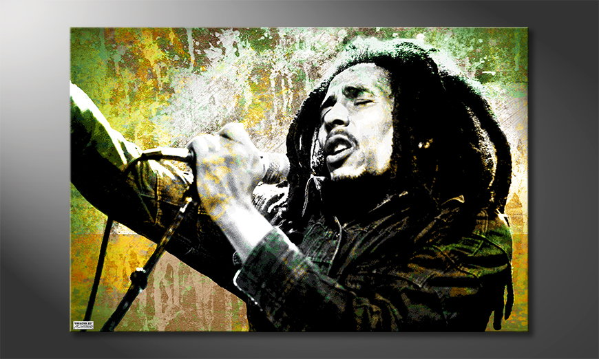 Beautiful canvas print Bob