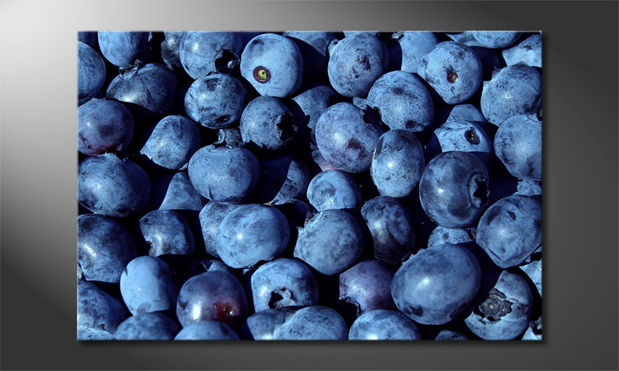 Blueberries-art-print