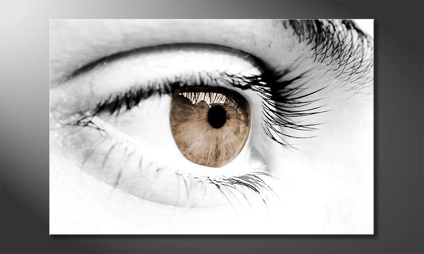 Bright canvas print Vision