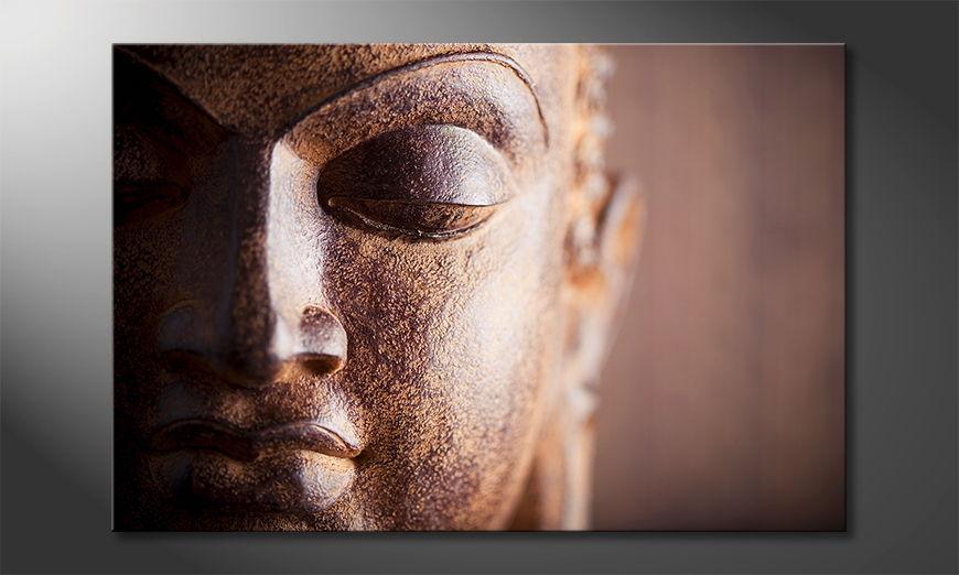 Buddha print Silence