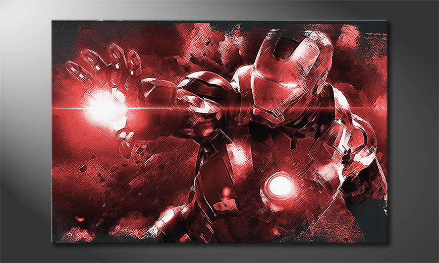 Canvas art Iron Man