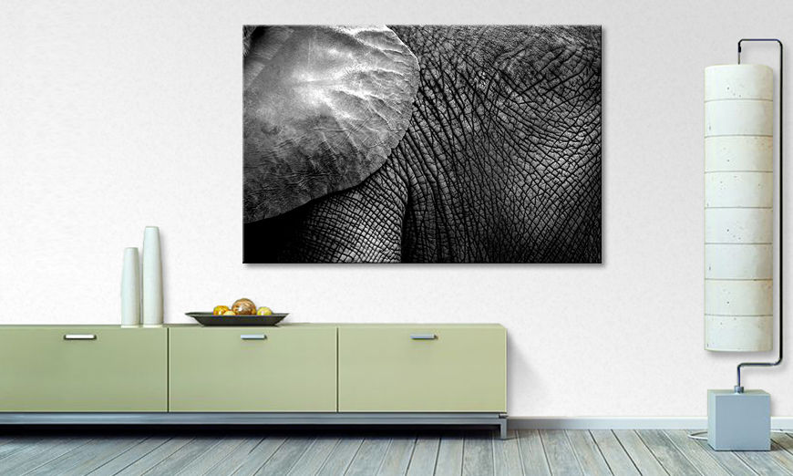 Canvas art print The Giant