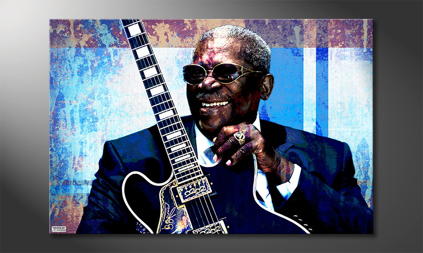 Canvas print BB King