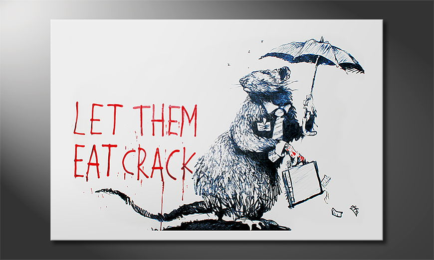 Canvas print Banksy No16