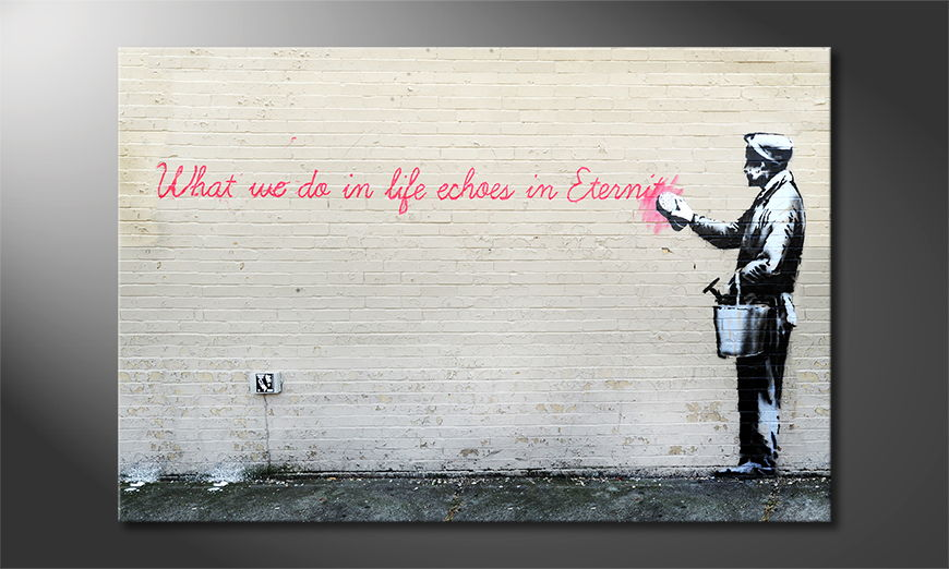 Canvas-print-Banksy-No17