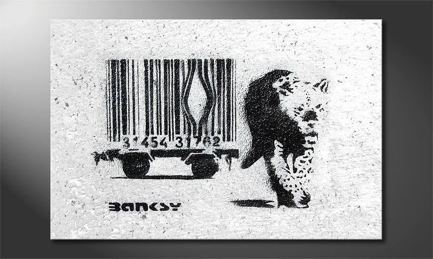 Canvas print Banksy No5