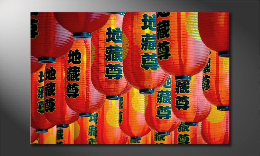 Canvas print Chinatown