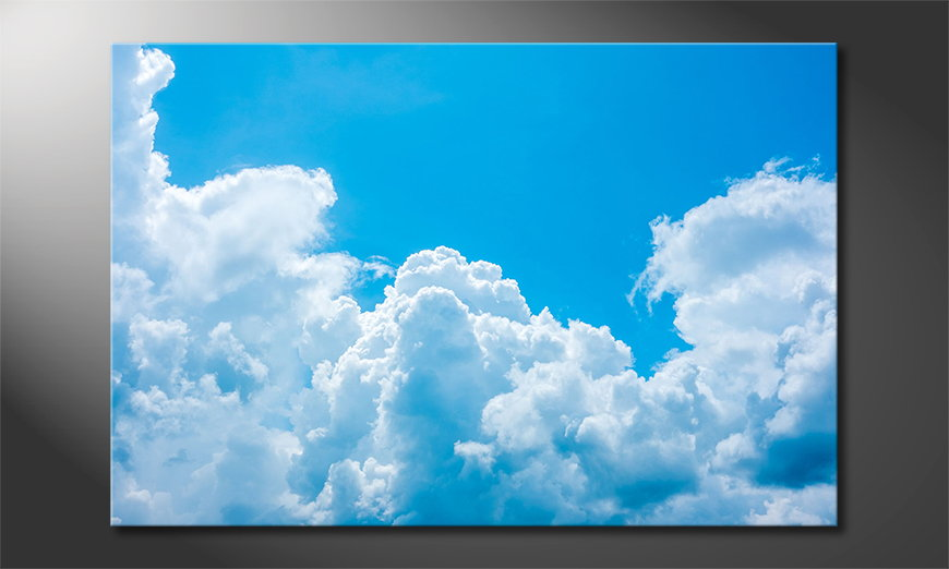 Canvas print Clouds