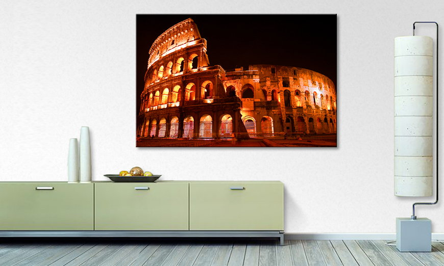 Canvas print Colosseum
