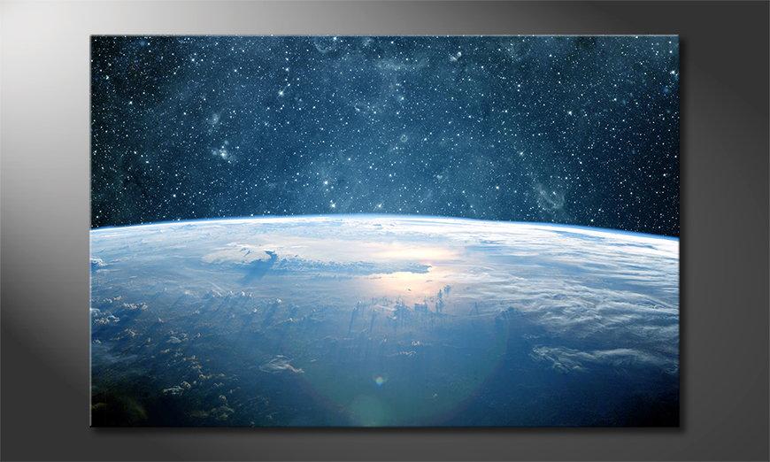 Canvas print Earth Planet I