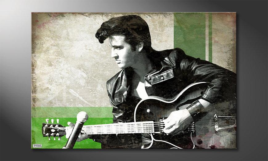 Canvas print Elvis