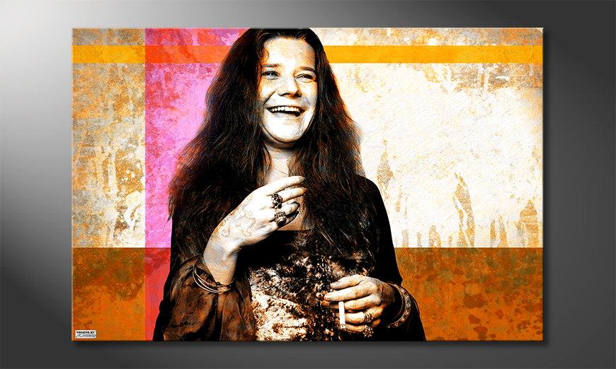 Canvas print Janis