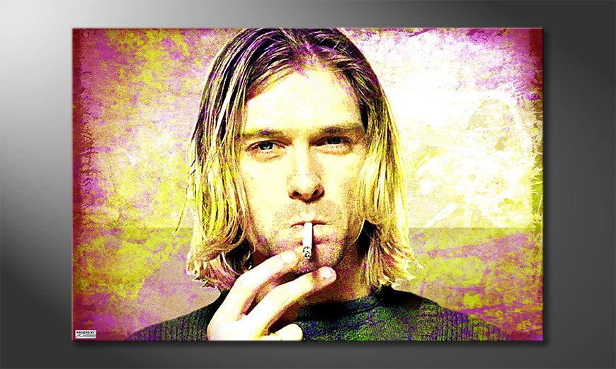 Canvas print Kurt