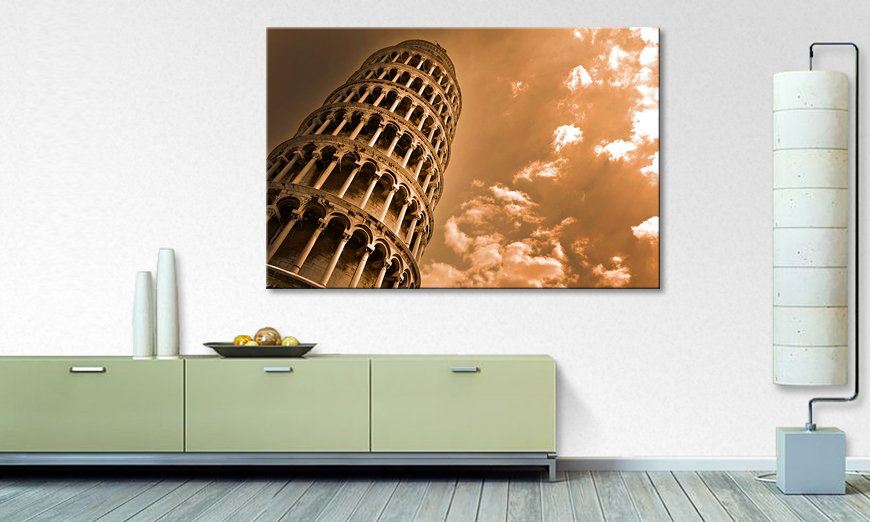 Canvas print Leaning Tower