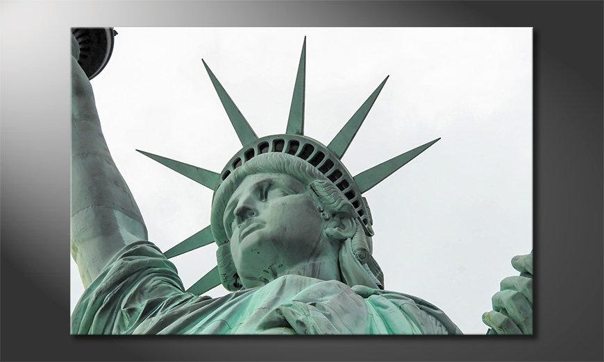 Canvas print Liberty
