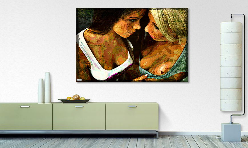 Canvas print Love to Love