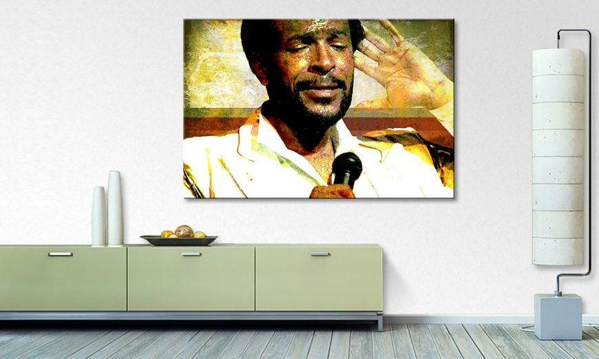 Canvas print Marvin