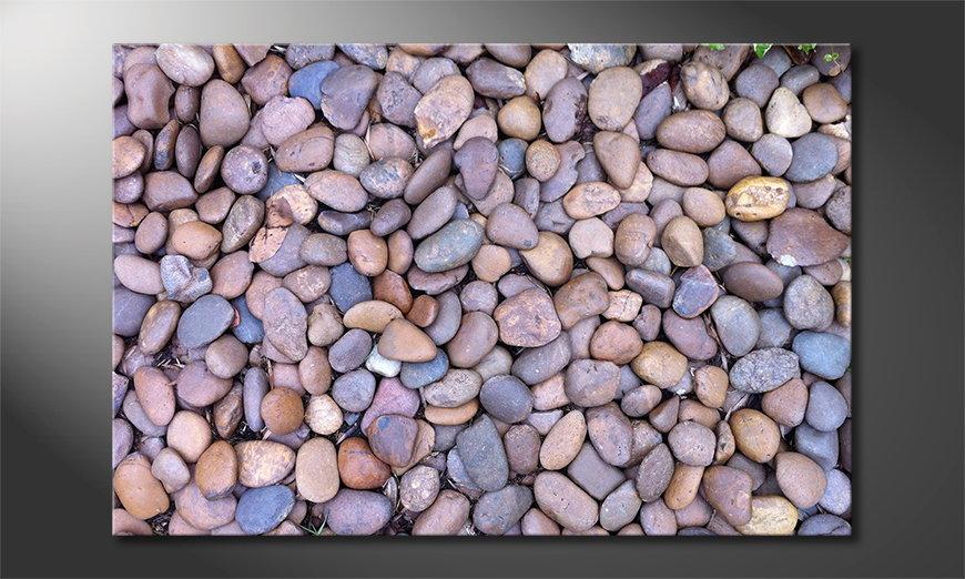 Canvas print Rock Texture