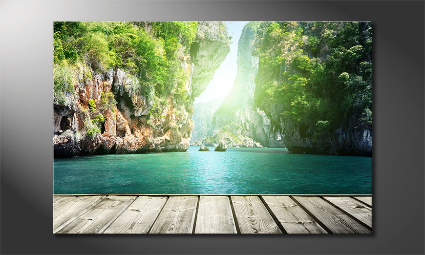 Canvas-print-Rocks-on-Railay