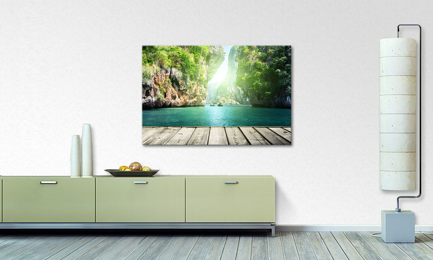 Canvas print Rocks on Railay