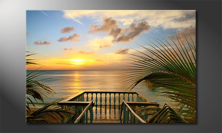 Canvas print The View