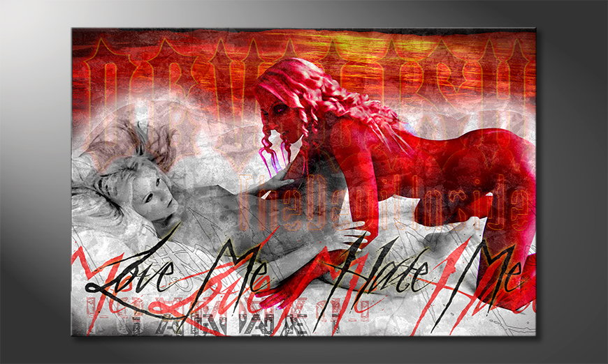 Erotic-art-print-Devilish