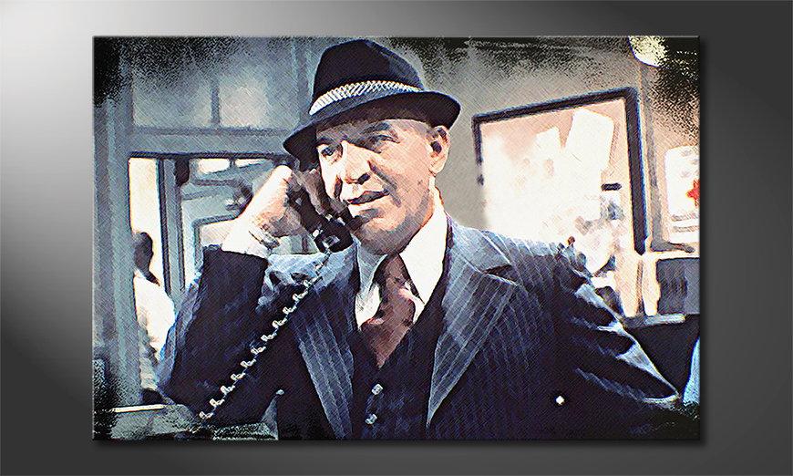Famous canvas print Kojak