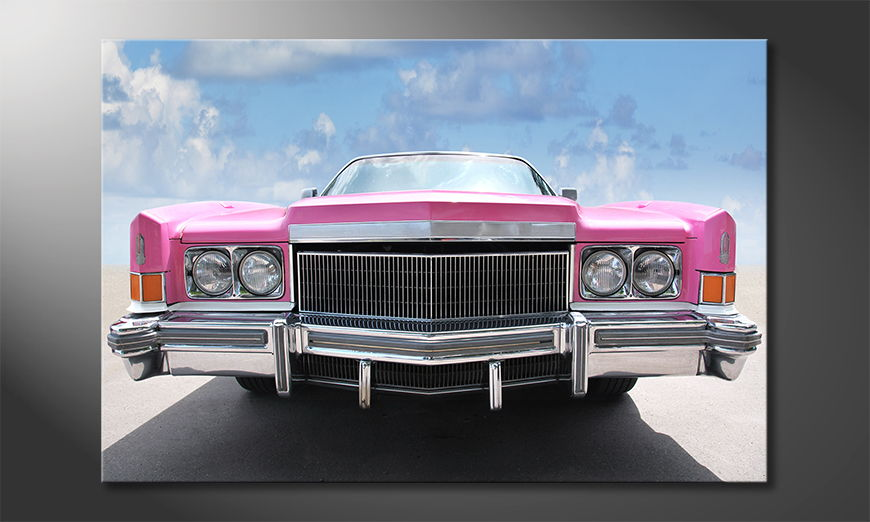 Famous print Pink Cadillac