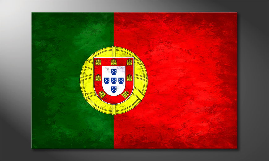 Modern Canvas print Portugal