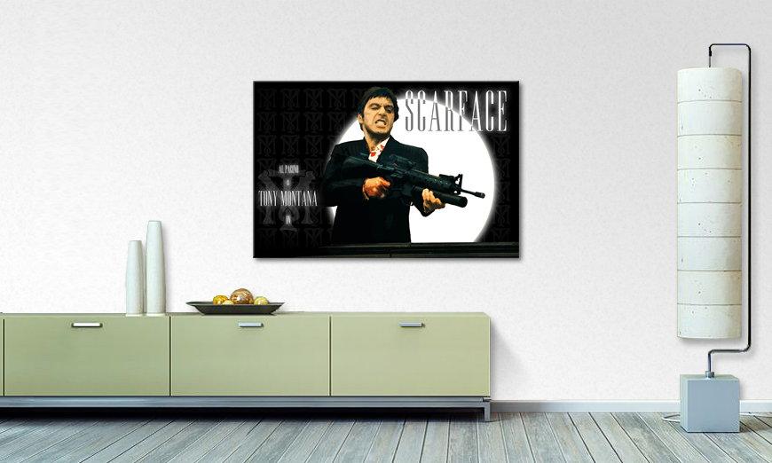 Modern Canvas print Scarface - Paintings XXL