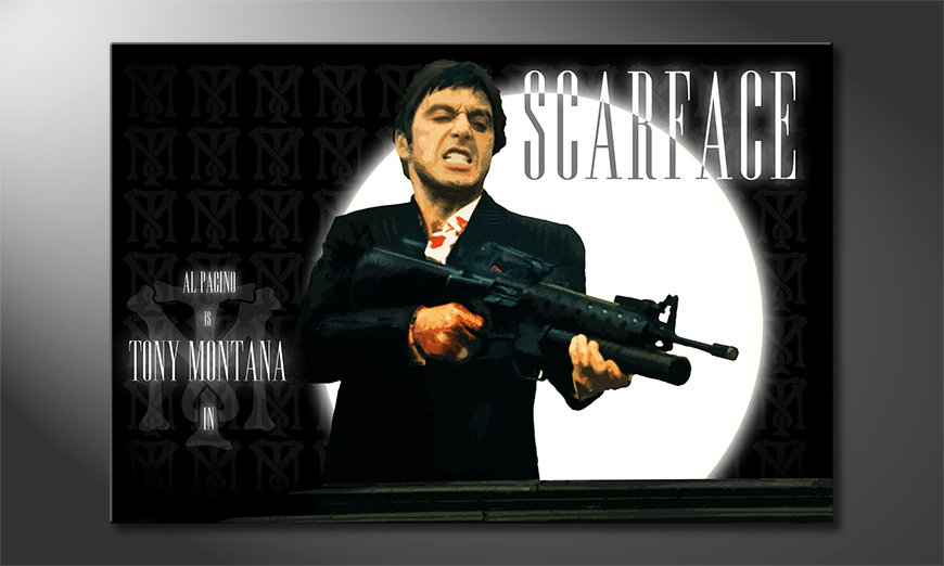 Modern Canvas print Scarface