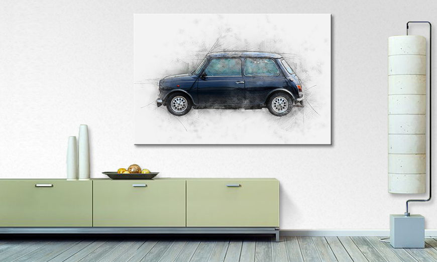 Modern Canvas print The small one