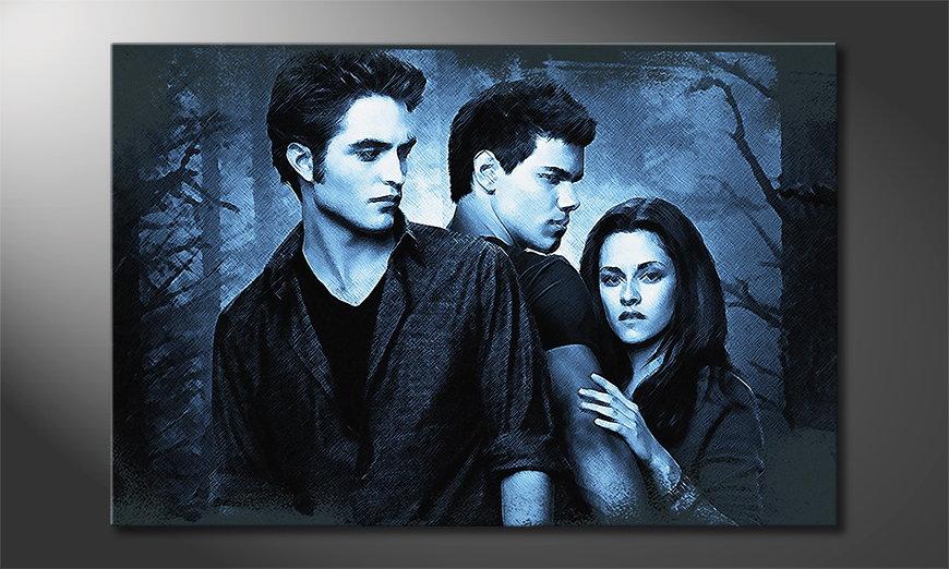 Modern Canvas print Twilight