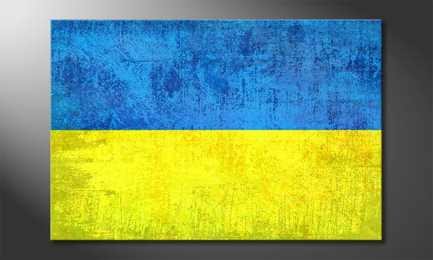 Modern Canvas print Ukraine