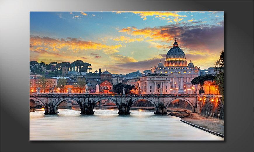 Modern Canvas print Vatican