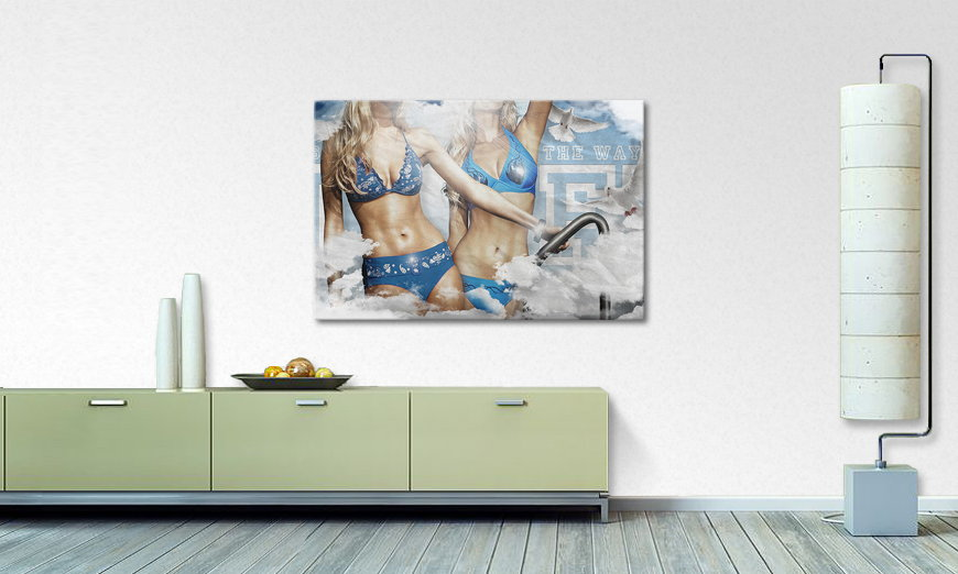 Modern Canvas print Way of Life